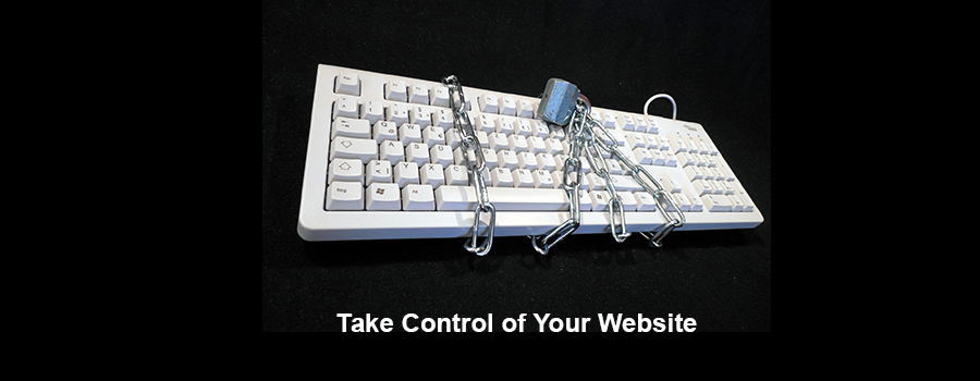 Take control of your website